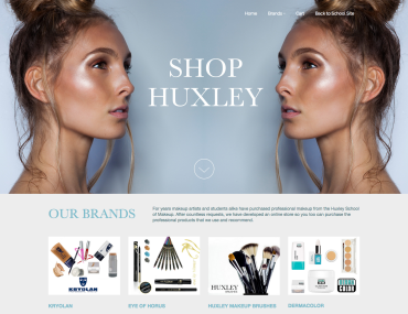 Huxley School of Makeup | Online Store